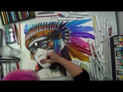-Inner Fight- Speed Painting