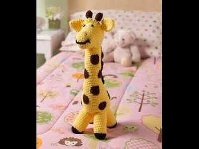 """Love My Giraffe Toy""-Video 4 of 5-(Legs & Mane)"