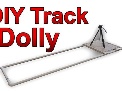 Low Cost DIY Track Dolly