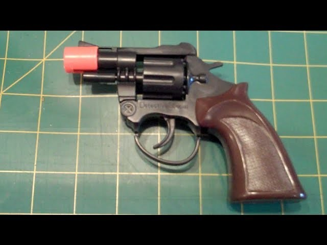 Make a BB Gun from a Cap Gun 200+ FPS
