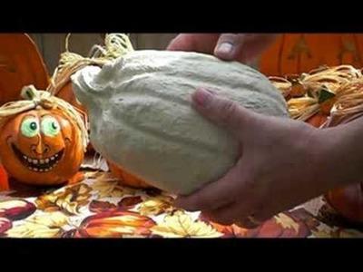 Make Your Own Papier Mache Pumpkin