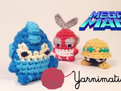 Megaman vs. Cutman - Stop Motion 'Yarnimation'
