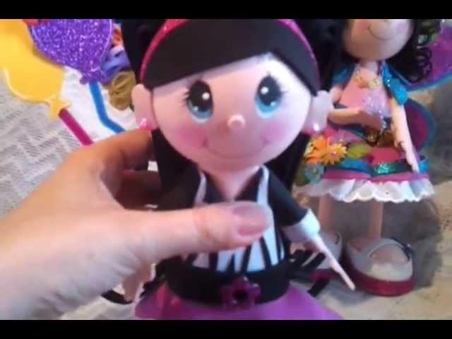 My latest fofucha doll (foamy doll)