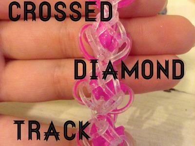 NEW Crossed Diamond Track (rainbow loom)
