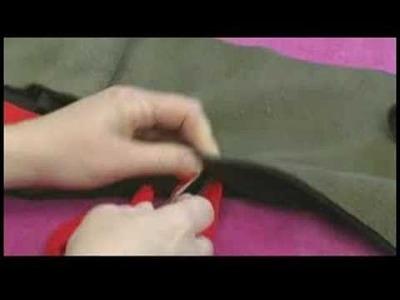 No-Sew Fleece Hat, Scarf & Pillow : Weaving a No-Sew Fleece Scarf