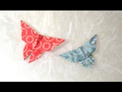 Origami Butterfly Instructions: www.Origami-Fun.com