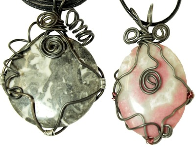 Quick Wrap! Wire Wrapping Tutorial for Pendants