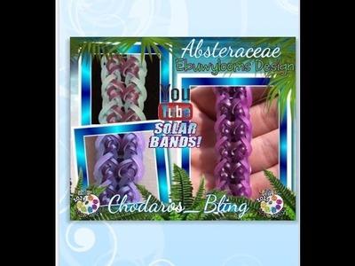 Rainbow Loom Band Absteraceae Bracelet How To tutorial