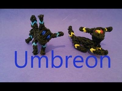 Rainbow Loom Charms: Umbreon Pokemon