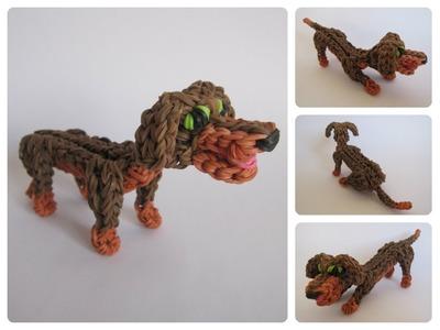 Rainbow Loom dachshund Part 1.2 Loombicious