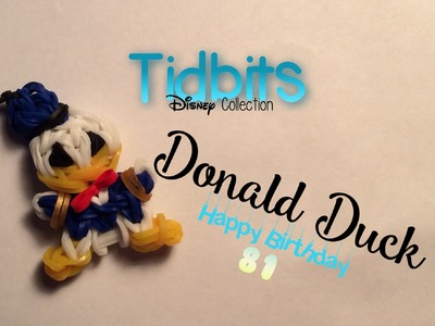 Rainbow Loom Donald Duck Charm | Tidbits Series