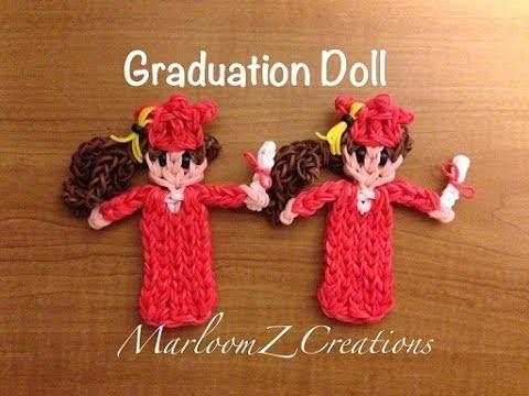 Rainbow Loom: Graduation Doll - Cap and Gown
