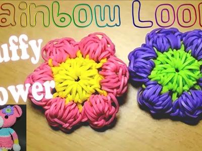 Rainbow Loom Puffy Flower