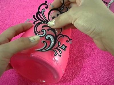 Recicla y decora con botellas por Fantasticazul