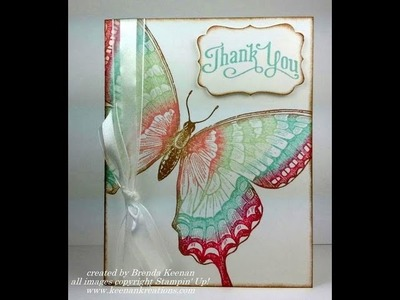 Stampin' Up! Sponge Daubers add a rainbow of colors to your stamps!
