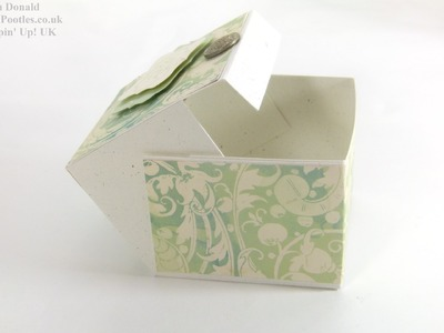 Stampin Up UK Wide Square Hinged Box Tutorial