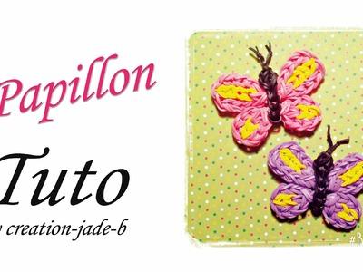 Tuto Rainbow Loom - Papillon (Butterfly) !