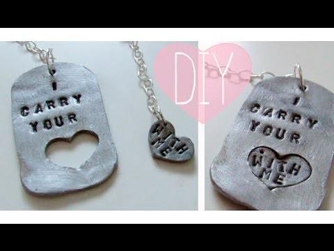 Valentine's 2014 Series: DIY Couples Jewelry