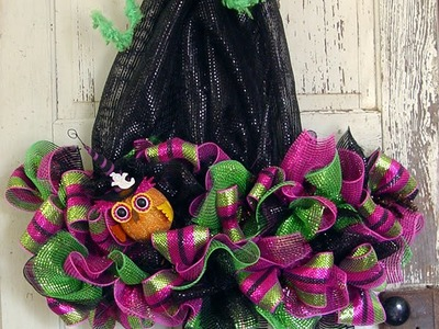 Witch Hat with Legs Tutorial