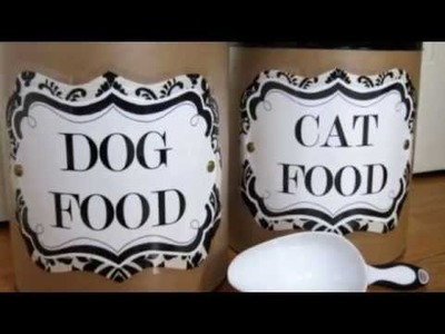 11 Awesome DIY Dog Bowls And Food Containers