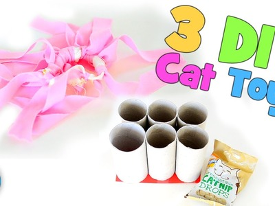 3 Super Simple DIY Cat Toys