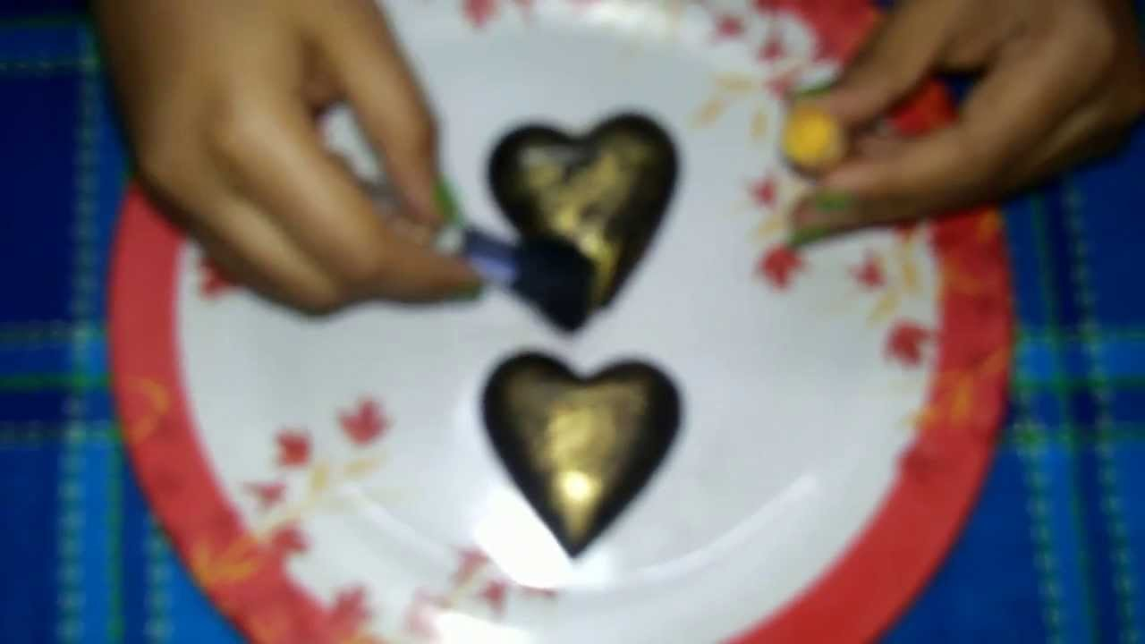 4. How to make heart shaped chocolate covered oreo