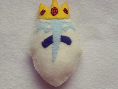 Adventure Time :How To Make Ice King Plushie Tutorial