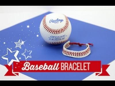 "Baseball  ""Fan"" Bracelet | DIY | ShowMeCute"