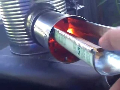 Built Tough Rocket Stove Modified Intake update!