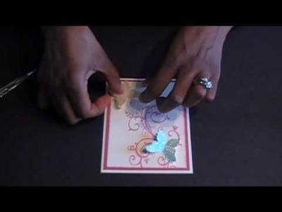 Card tutorial: Baroque Butterflies