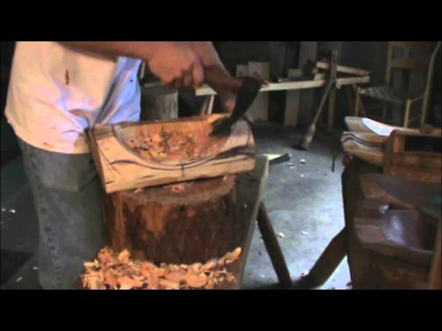 Carving a Wooden Bowl: Green Wood and Hand Tools