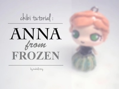 Chibi Tutorial : Anna in Coronation Gown (inspired by the movie Frozen)