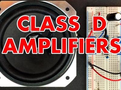 Class D Amplifier Tutorial!