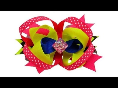 Complete Hair Bow Making Tutorial