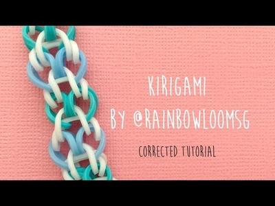 CORRECTED: Rainbow Loom Bands Kirigami Tutorial