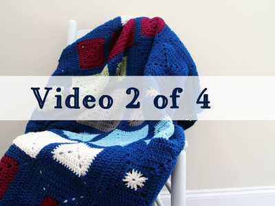 Crochet Challenge For Warm Up America Video 2 of 4