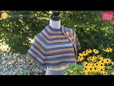 Crochet Cool Casual Shawl Tutorial