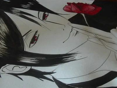 Disegnare un Manga : Sebastian Michaelis ! - Kuroshitsuji - How to draw a Manga!