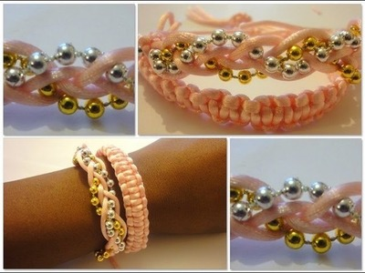 DIY Bracelet. How To Make A Beaded Bracelet. Arm Candy