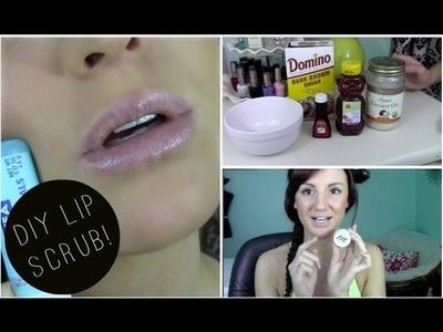 ♡ DIY ♡ Coconut & Vanilla Lip Scrub + Demo