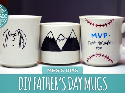 DIY Father's Day Coffee Cup - HGTV Handmade