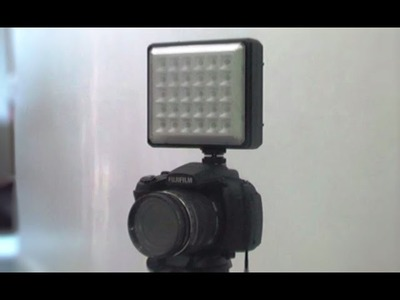 DIY Led Camera Lighting, Cheap and Simple, only Rp. 100.000 ($9)