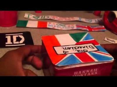 DIY One Direction Mini Jewelry Box