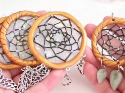 DIY Polymer Clay Dreamcatcher Tutorial