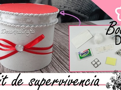 DIY Wedding - Kit de Supervivencia para Boda Wedding Souvenirs ideas DIY - DecoAndCrafts