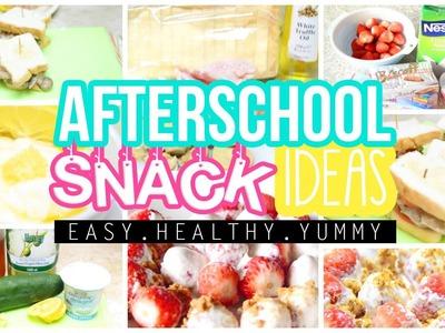 ♡ Easy, Healthy & Yummy After School Snack Ideas | AlohaKatieX ♡
