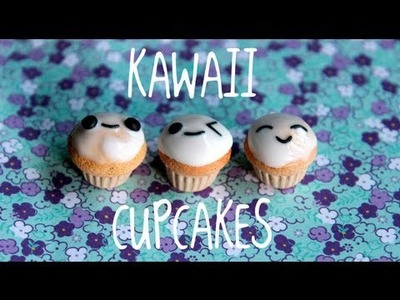 Easy kawaii cupcake tutorial!