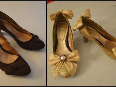 Glitter Lolita Shoes Transformation DIY