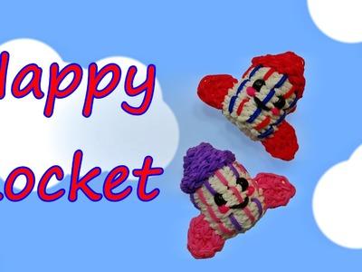 Happy Rocket Tutorial by feelinspiffy (Rainbow Loom)