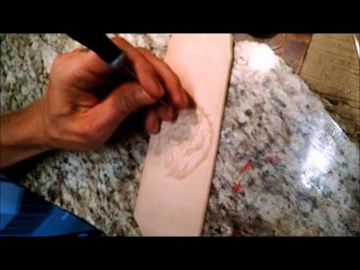 How I make my leather cuff bracelets